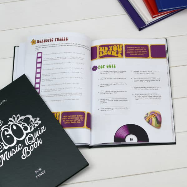 60s Music Quiz Book