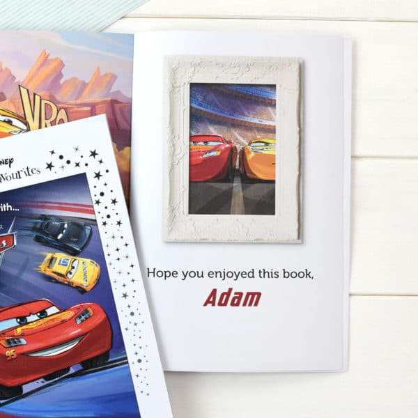 Personalized Disney Cars 3 Book
