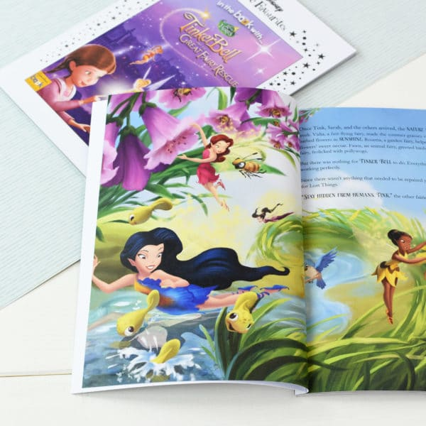 Personalized Disney Fairies Tinkerbell book