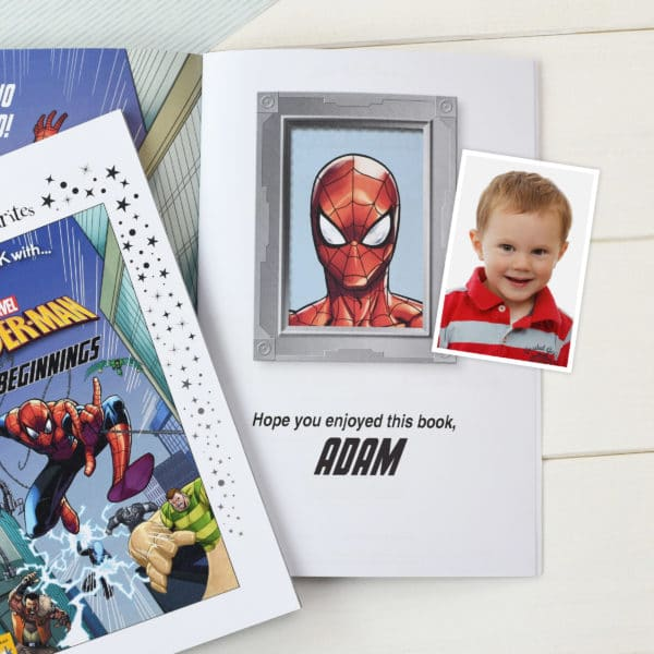Personalized Spider-Man Beginnings story