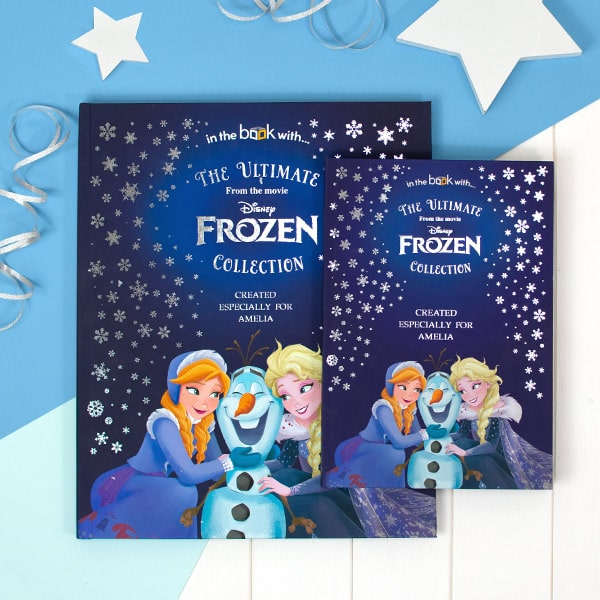 Personalized Frozen Story Book Collection