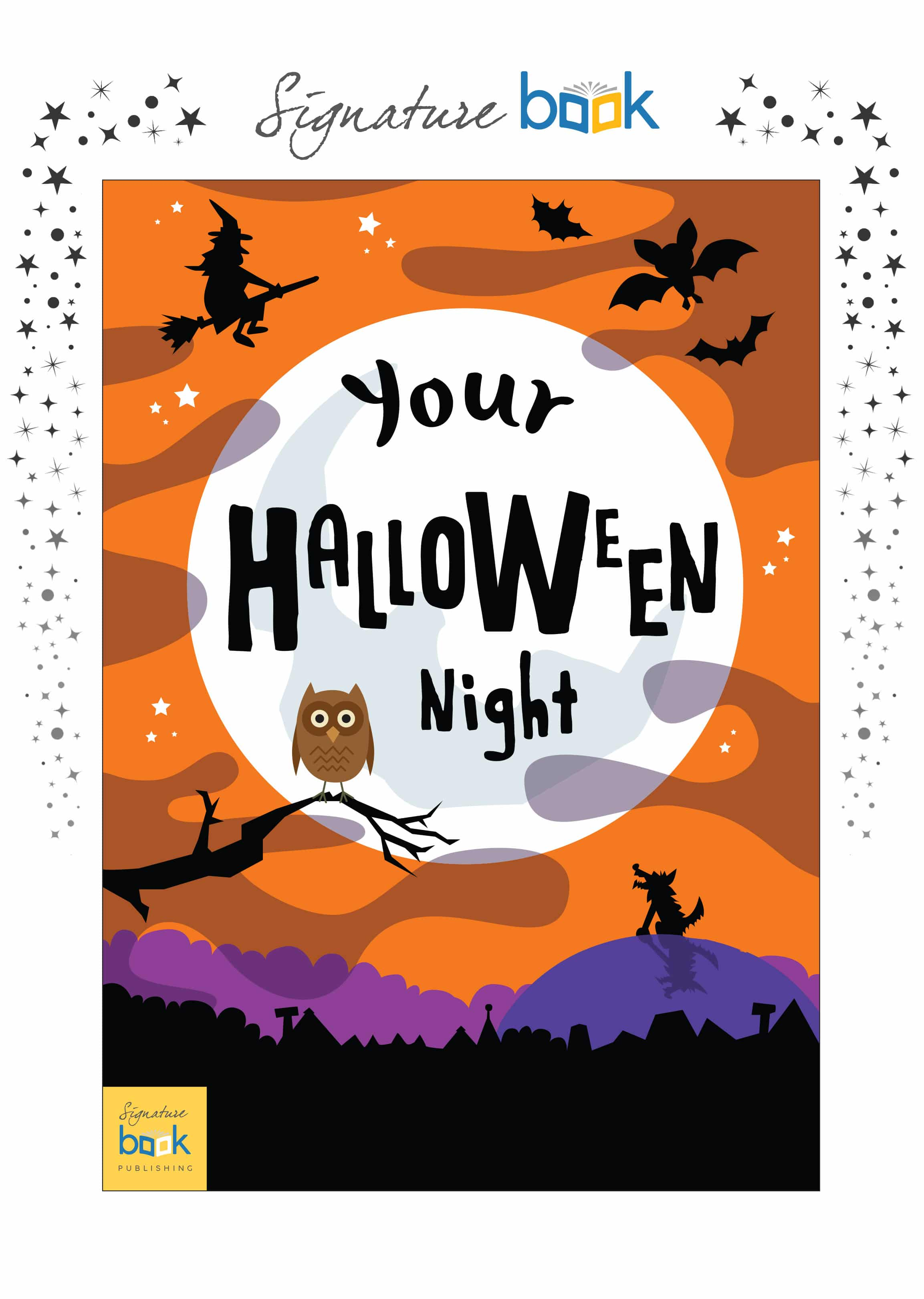Personalized On Halloween Night Book
