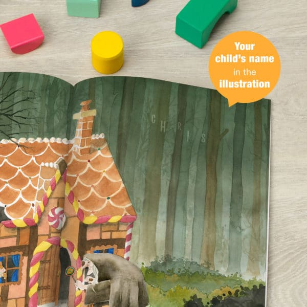 Personalized Hansel and Gretel Story Book