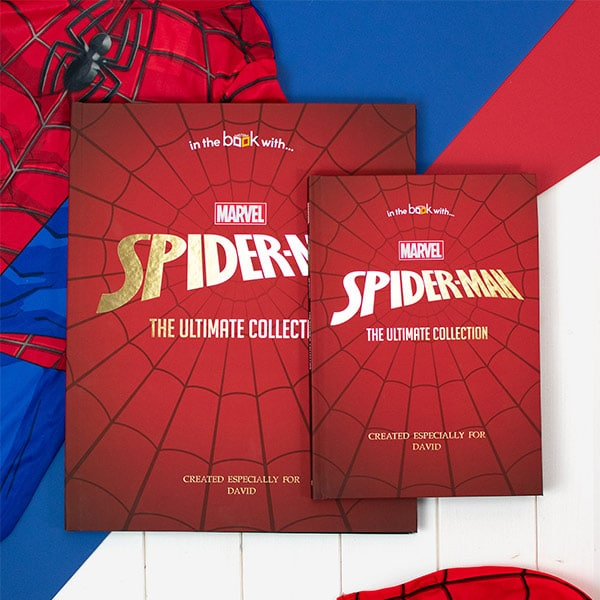 Personalised Spider Man Collection Book