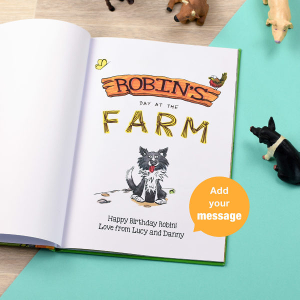 My Day at the Farm book
