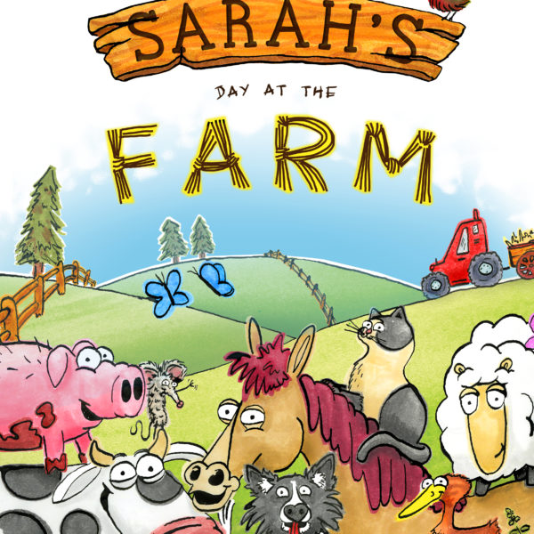 cover image farm book personalised