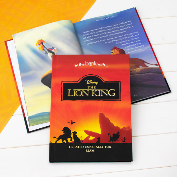 Personalized Disney Lion King Collection book