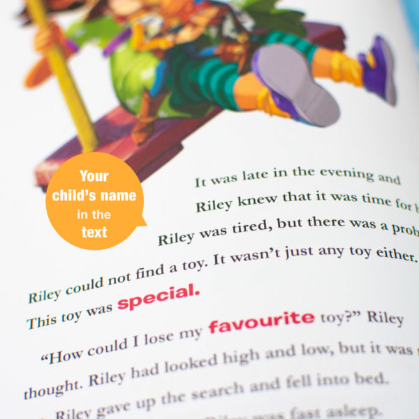 Personalized Disney Toy Story 4 book