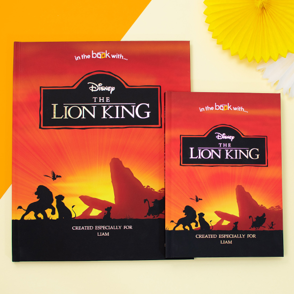 Personalized Lion King Book