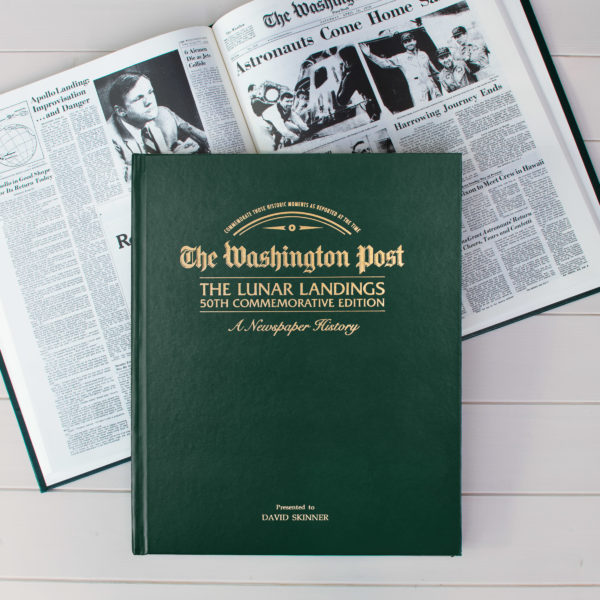 Lunar Landings commemorative history book