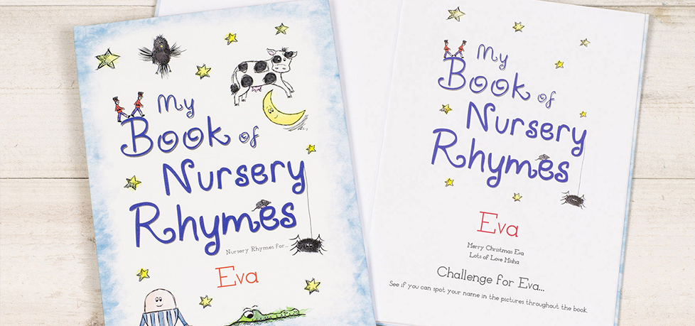 Personalized Nursery Rhyme Book