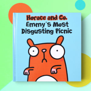 Personalized disgusted hamster book