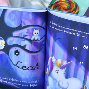 Unicorn Adventure book