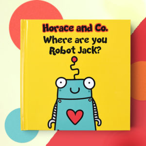 Personalised Where are you Robot book