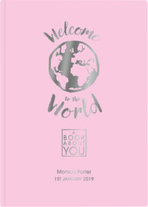 Welcome to the World book about you
