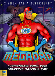 Megadad Comic book