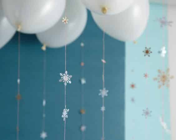Frozen Party Decoration Ideas