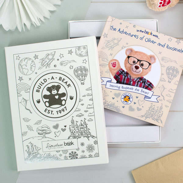 Personalized Build-A-Bear Book