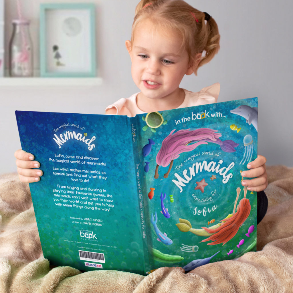 personalized mermaid book