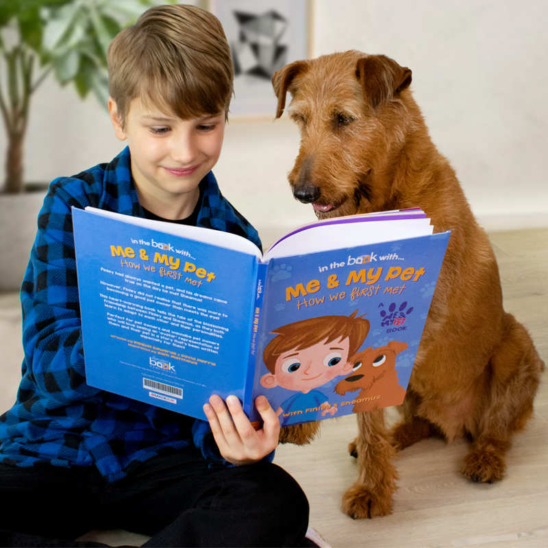 "Personalised ""Me and My Pet"" Avatar Book"