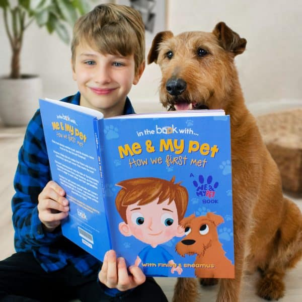 Personalized Me and My Pet Avatar Book