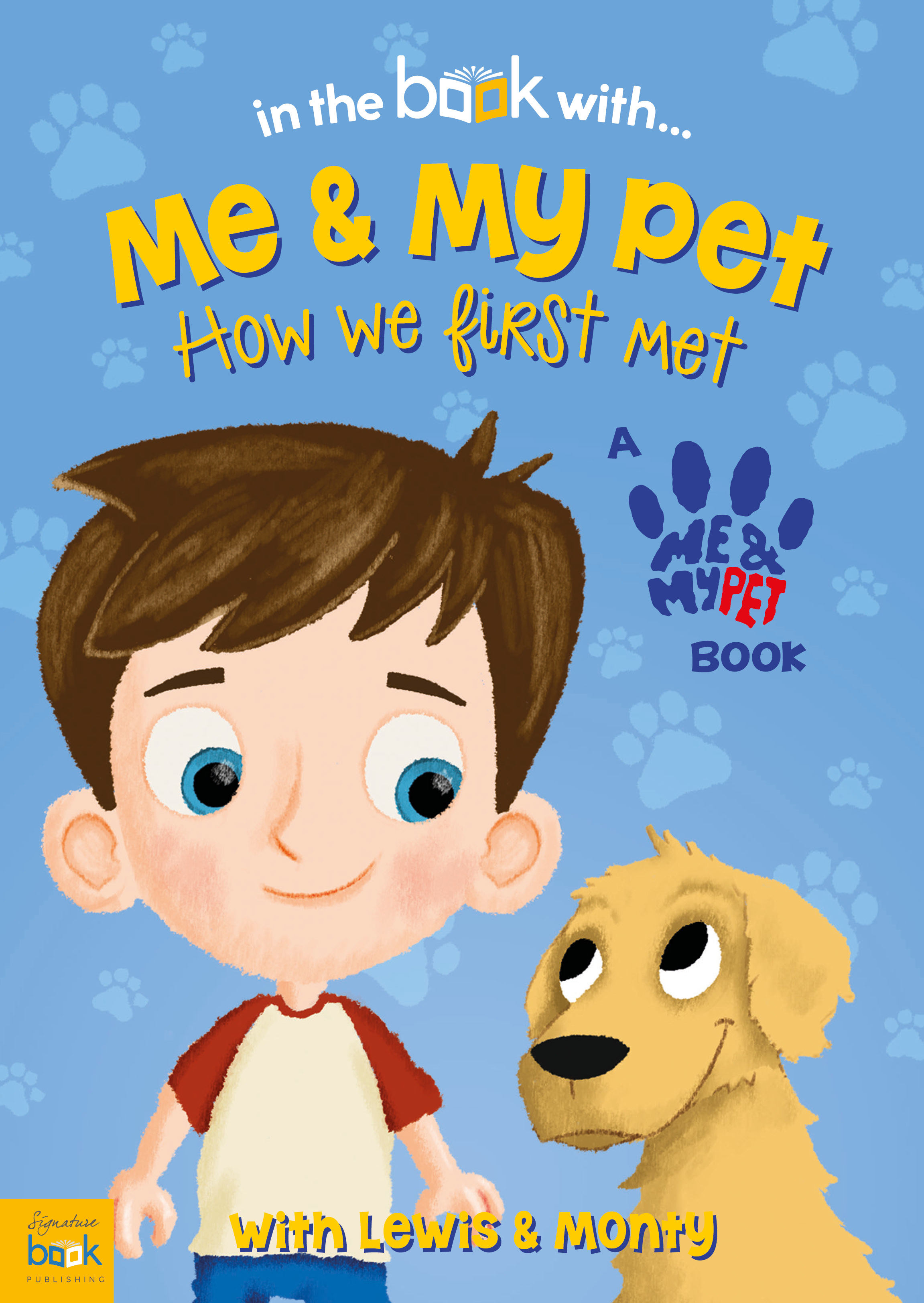 Me and My Pet Personalized Book