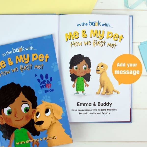 personalized dog book