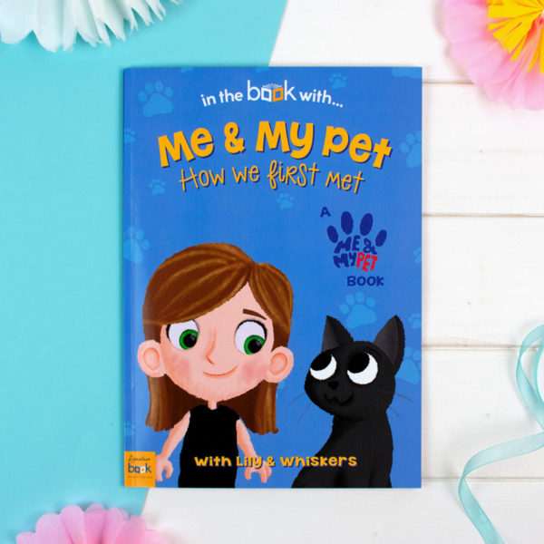 Me and My Pet Cat Personalized Book