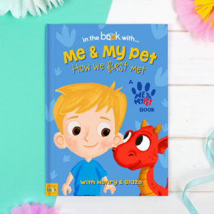Me and My Pet Dragon Personalized Book