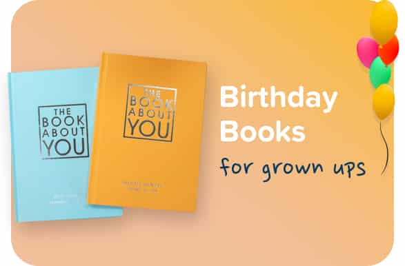 Birthday Books for Grown Ups