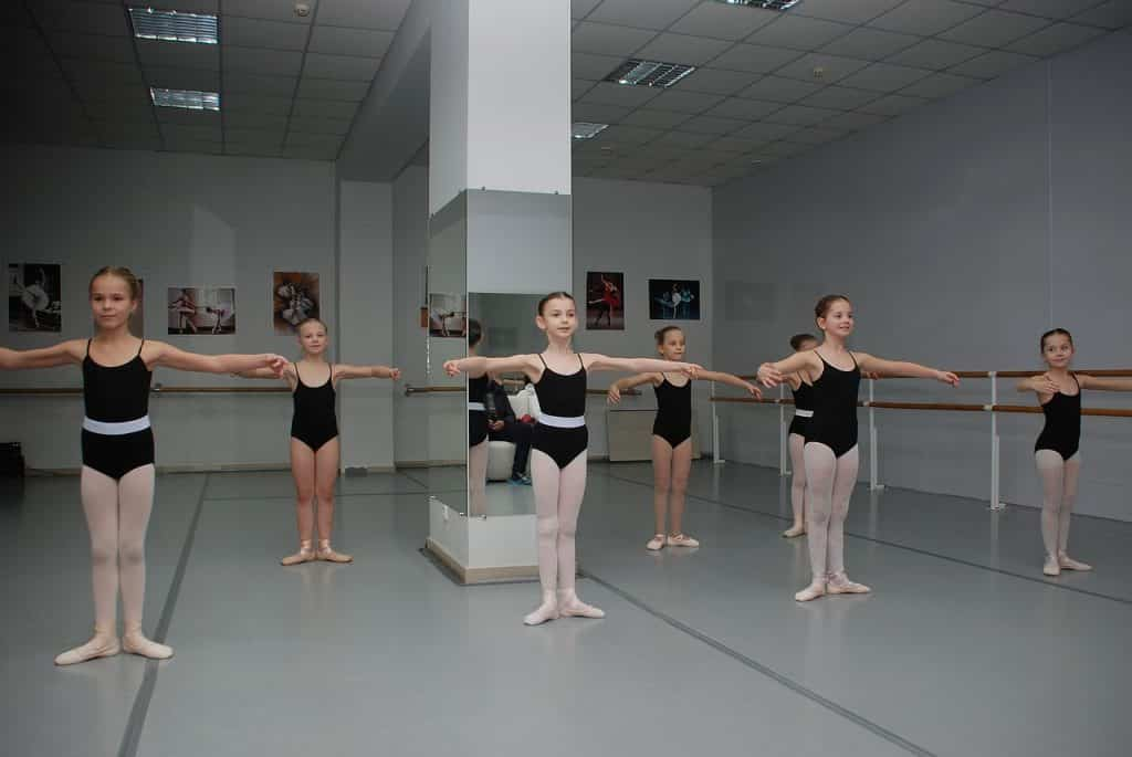 Children Doing Ballet