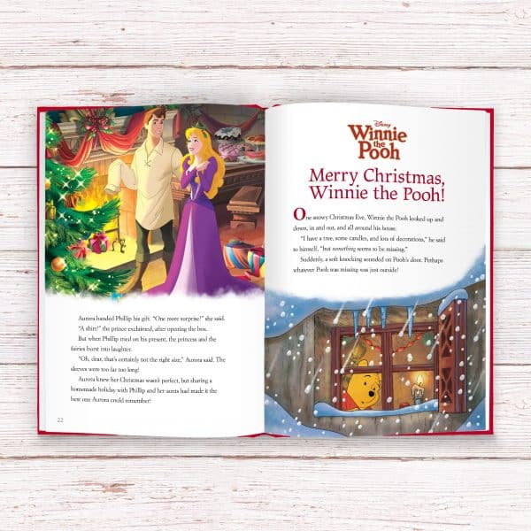 disney christmas story collection book