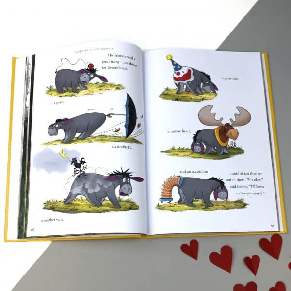 personalized winnie the pooh collection book