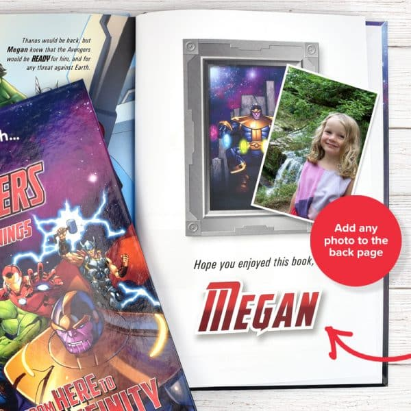 personalized marvel book