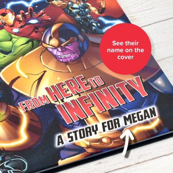 personalized avengers storybook