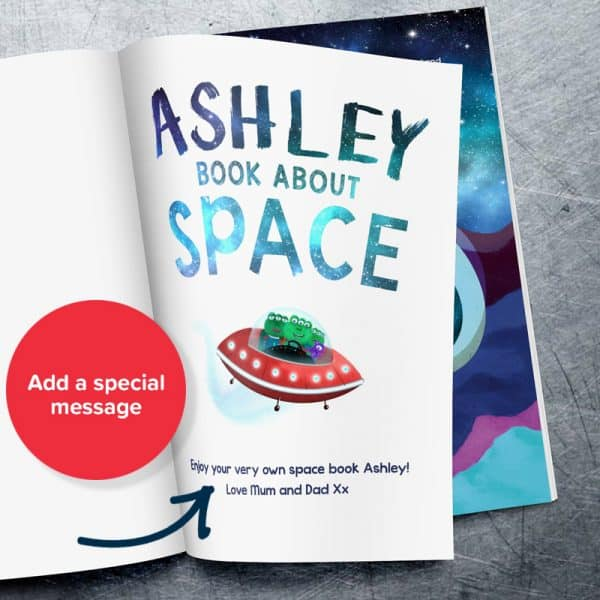 my book about space