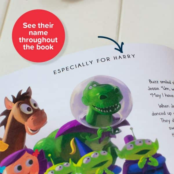 personalized toy story book