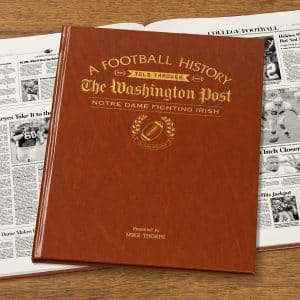 notre dame football book