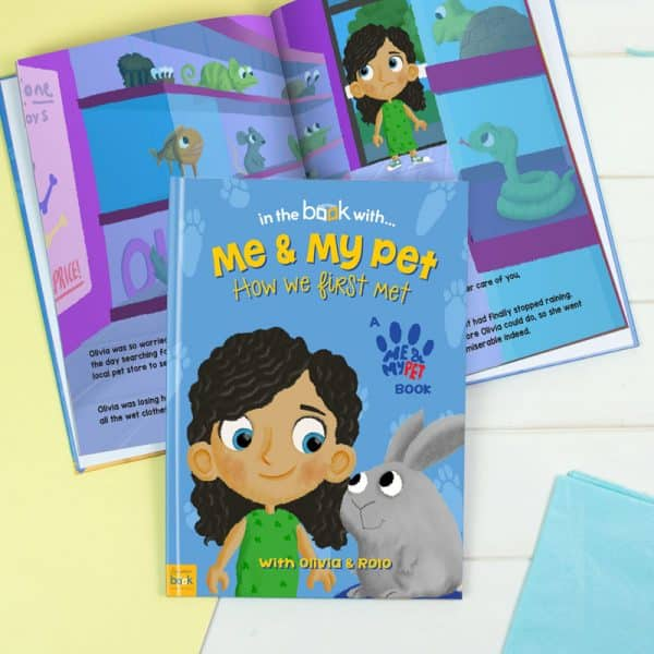 personalized rabbit book