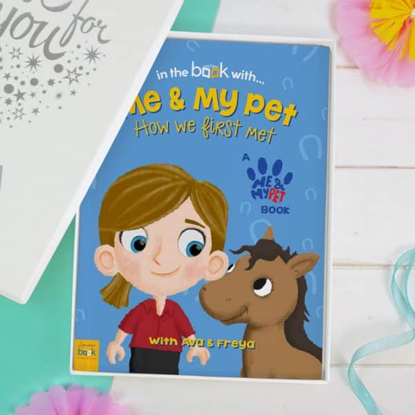 personalized horse story book