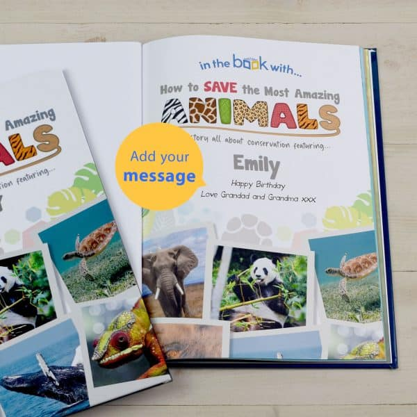 book full of interesting animal facts