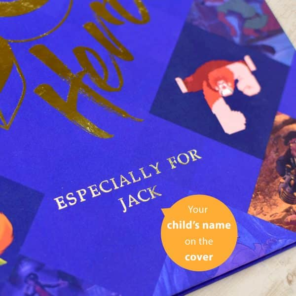 personalized Disney Heroes Book