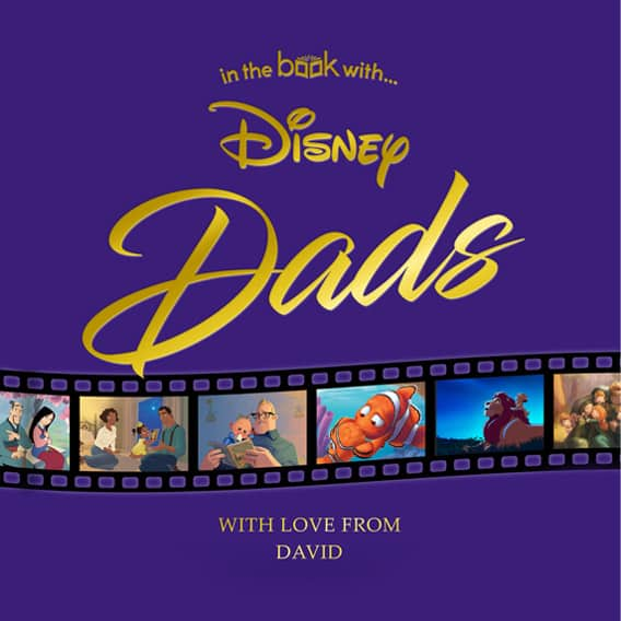 personalized disney dads book