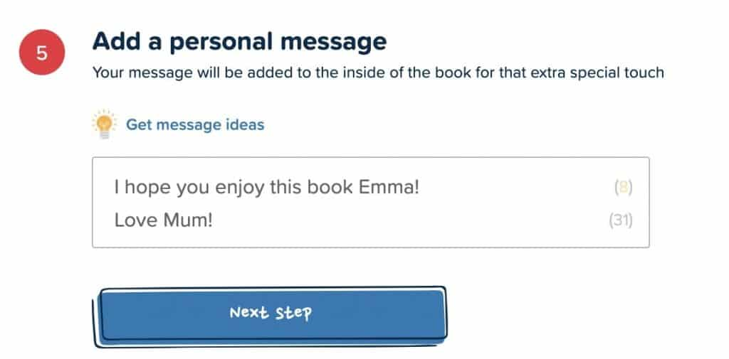 how to create a personalized book
